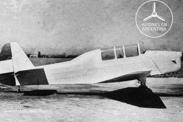 1er Prototipo del I.Ae.31 Colibrí el día de su primer vuelo