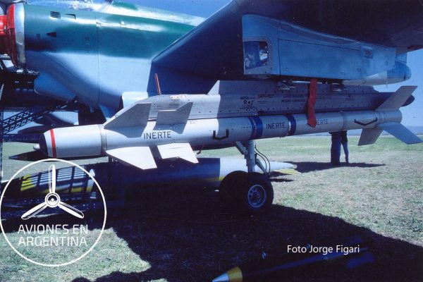 Close-up del Misil Magic  que hubiera podido equipar al IA-58C ,