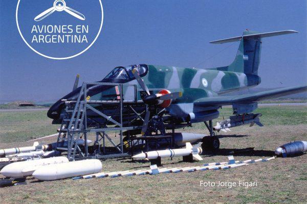 Mock Up del IA-58C en la EAM
